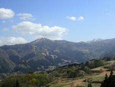 View from Yoshitaki Camp of Mt. Hichibuse