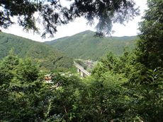 View from Gohanbata Tenbo-Sho